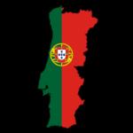 Carte aux couleurs du Portugal