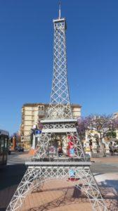 Mini Tour Eiffel à Fuengirola