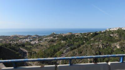 Bord de mer entre Fuengirola et Malaga