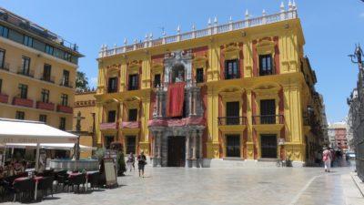 Le palais épiscopal de Malaga