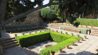 Les jardins de l'Alcazaba de Malaga