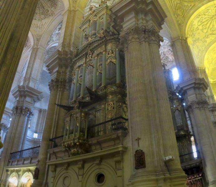 Les Orgues - Cathédrale de Malaga