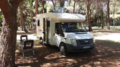 Au camping Borik de Zadar