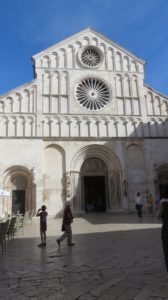 La cathédrale Ste Anastasie de Zadar