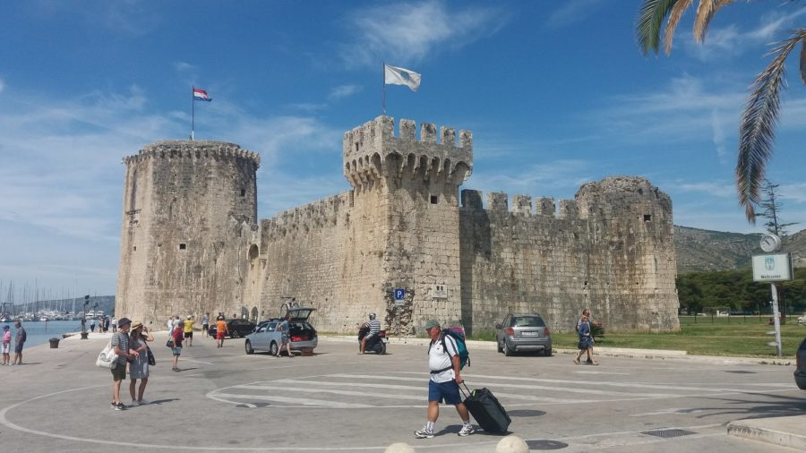Le château de Kamerlengo de Trogir