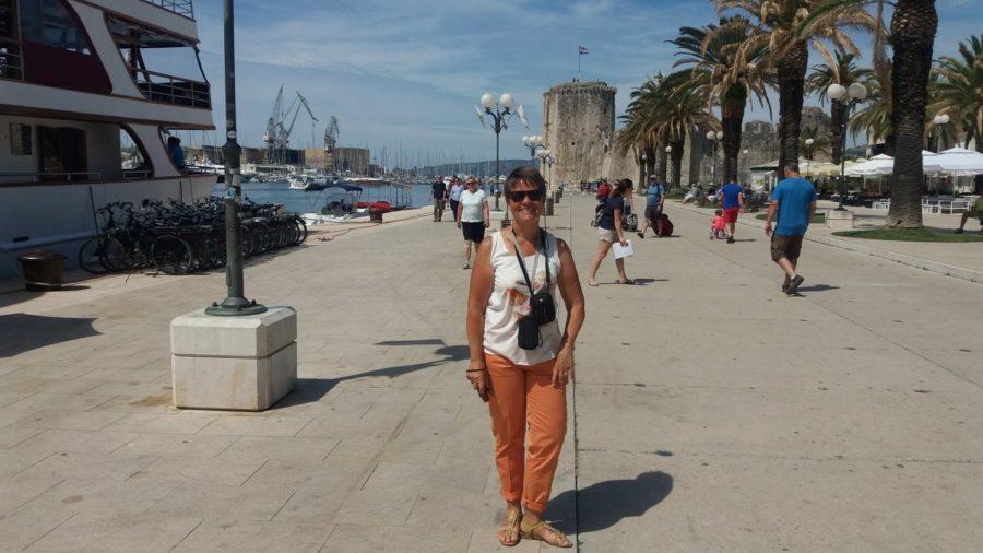 Balade sur les quais de Trogir