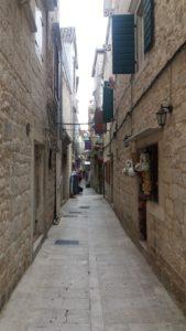 Les ruelles de Trogir