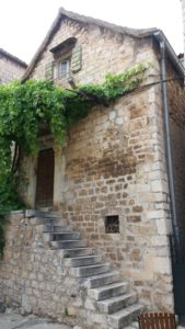 Les vieilles maisons de Trogir