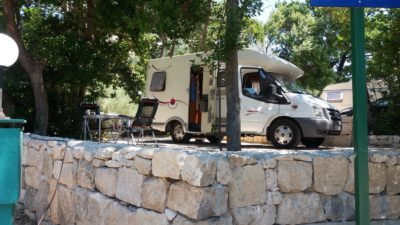 Zaostrog - Au camping Viter