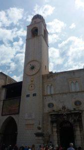 La tour de l'horloge - Dubrovnik