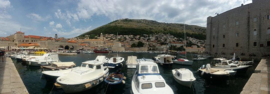 Le port et la vieille ville - Dubrovnik