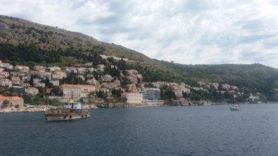 Dubrovnik vue de la vieille ville