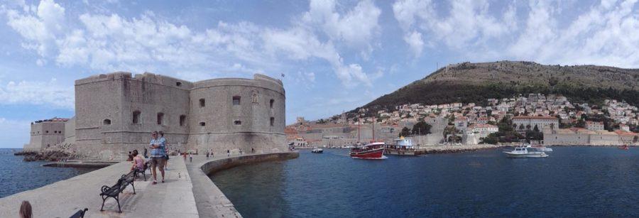 Le fort St Jean et le port - Dubrovnik