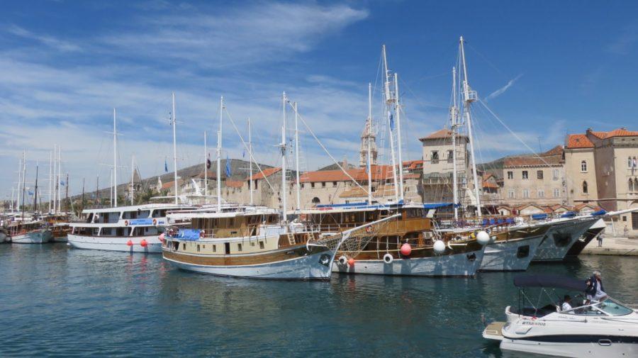 Le port de Trogir