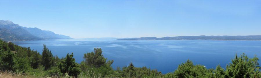L'Adriatique entre Mimice et Pisak - Croatie