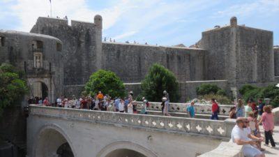 L'entrée de la vieille ville - Porte Pile - Dubrovnik