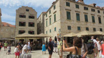 La place de la Loggia - Dubrovnik