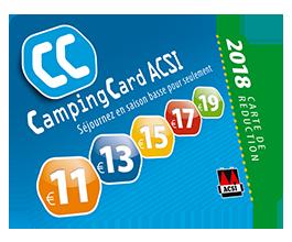 La campingcard ACSI