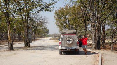 Passage à la South Gate de la Réserve de Moremi - Botswana